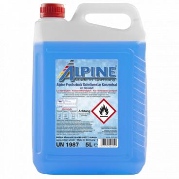 Nemrznoucí kapalina do ostřikovačů 5L Alpine -50°C