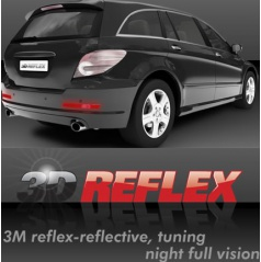 Reflexní samolepící fólie 3D reflex 165x20 mm  2 ks