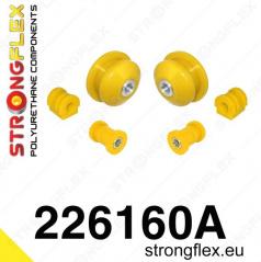 VW Polo III 2009+ StrongFlex Sport sestava silentbloků jen pro přední nápravu 6 ks