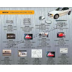 BMW 3 (E46) 98-03 CHROM AUTODOPLŇKY