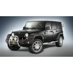 Jeep Wrangler, 2007-> přední rám 60 mm, nerez