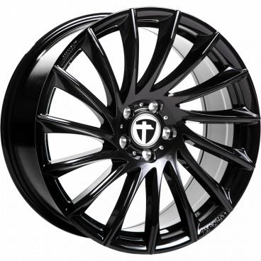 Alu kolo Tomason TN16 black 8,5x19 5x108 ET40