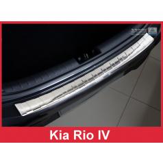 Nerez kryt-ochrana prahu zadního nárazníku Kia Rio IV 2017
