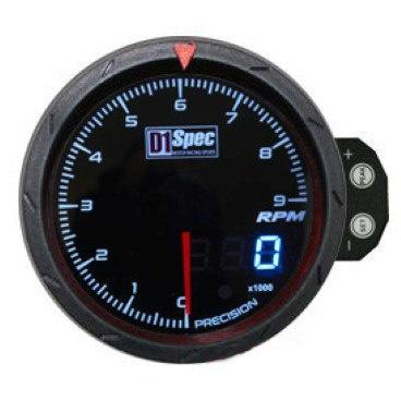 Hodiny D1Spec 60 mm - otáčkoměr