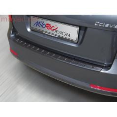 Práh pátých dveří s výstupky, ABS-černá metalíza Škoda Octavia II. RS Combi, Octavia II. RS Facelift Combi