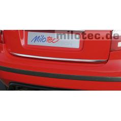 Zadná nerez lišta kufra Škoda Fabia II Limousine