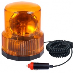 Maják výstražný 12V oranžový