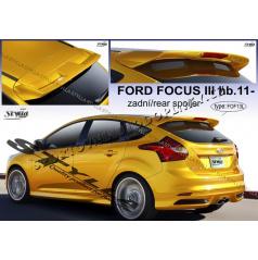 Ford Focus III htb 2011- zadní spoiler (EU homologace)
