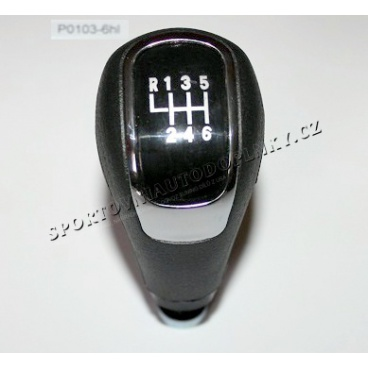 Hlavice řazení 6 rychl. černá Škoda Octavia I 1,8/1,9TDI,2,0, Octavia II