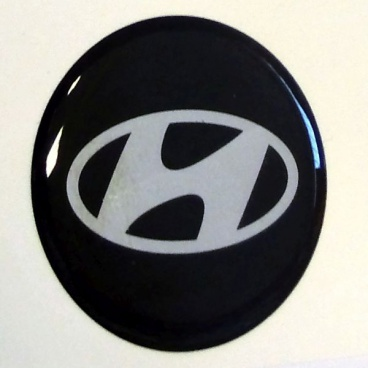 Znak Hyundai průměr 55 mm, 4 ks