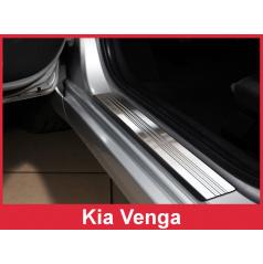 Nerez ochranné lišty prahu dveří 2ks Kia Venga 2009-16