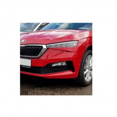 Mračítka Sportive v originál Škoda barvě Velvet red (F3P) - Škoda Scala