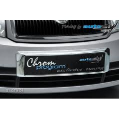 Rámeček registrační značky přední Škoda Fabia I do 8/2004