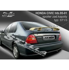 HONDA CIVIC htb 95-01 spoiler zad. kapoty (EU homologace)