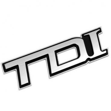 Znak TDI samolepící