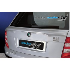 Škoda Fabia Spoiler 5. dveře pod okno - pro lak