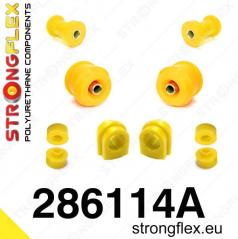 Nissan 200SX S14 1994-99 StrongFlex Sport sestava silentbloků jen pro přední nápravu 10 ks