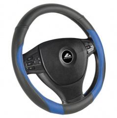 Potah na volant black/blue M