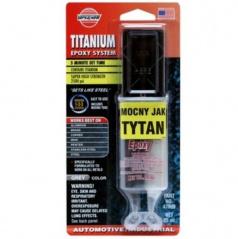 Titanové epoxidové 2-složkové lepidlo s částicemi titanu 25 ml