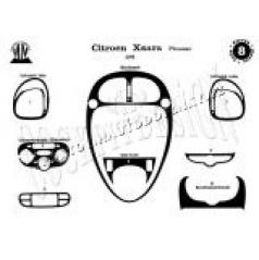 Citroen Picasso - dekor přístrojové desky v provedení MAHAGON - Citroen Tuning