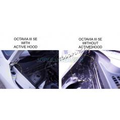 Škoda Octavia III - vzpěry kapoty KI-R - pro aktivní kapotu