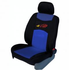 Autopotahy 4Car-Škoda Octavia I-dělená zadní sedačka+zadní loketní opěrka-modré