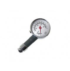 Měřič tlaku v pneumatikách kovový  do 7,5 Atm.