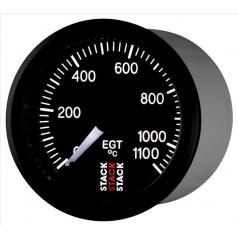 Stack elektronický budík teplota výfuk. plynů EGT 52 mm ST3313