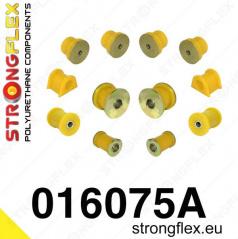 Alfa Romeo 156 StrongFlex Sport sestava silentbloků jen pro přední nápravu 12 ks