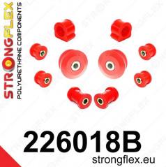 VW Bora StrongFlex sestava silentbloků jen pro přední nápravu 10 ks