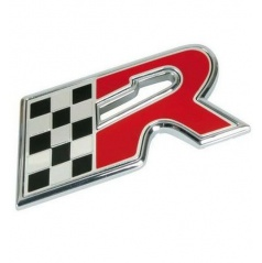 Plastické logo  R-flag  s podlepením (55x25 mm)