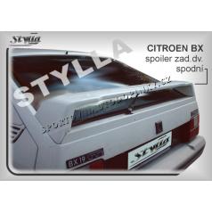CITROEN BX  (82-93) spoiler zad. dveří spodní (EU homologace)