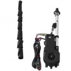 Anténa automatická, chrom max. 90 cm + redukce