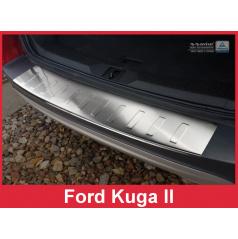 Nerez kryt- ochrana prahu zadního nárazníku Ford Kuga II 2013-16