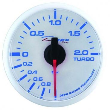 Budík 52 mm tlak turba DEPO RACING