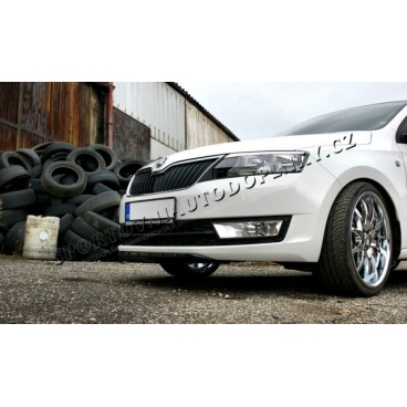 Škoda Rapid - spoiler předního nárazníku Sportive