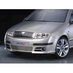 Rámečky mlhových světel - ABS chrom, Škoda Fabia I Facelift