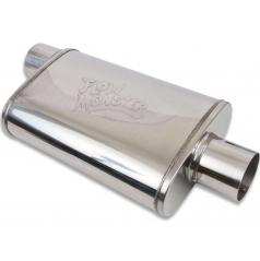 Sportovní střední nebo zadní díl výfuku Flowmonster Ovál 76 mm