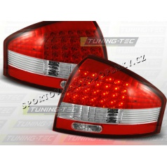 AUDI A6 (C5) SEDAN 1997-04 ZADNÍ LED LAMPY RED WHITE (LDAU03)