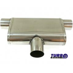 Sportovní výfuk TurboWorks dual (1 vstup / 2 boční výstupy)