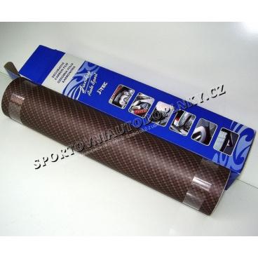 Nalepovací 2D karbon folie černá 60x50 cm