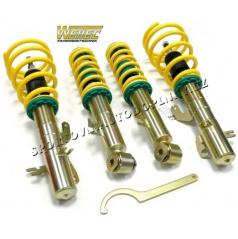 ST suspensions sportovní výškově stavitelný podvozek AUDI S8 (D2) Quattro / 4WD, 07/96-09/02 snížení 30-60/45mm
