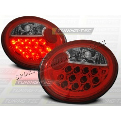 VW NEW BEETLE 1998-05 ZADNÍ LED LAMPY RED WHITE (LDVW40)