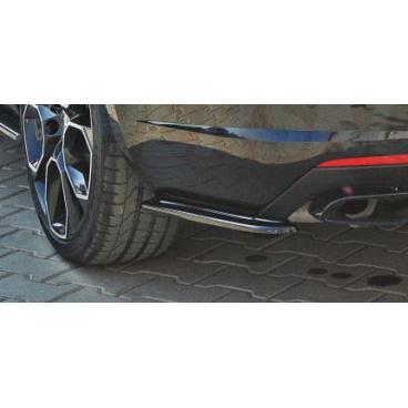 Boční spoilery zadního nárazníku DTM - carbon look Škoda Octavia III RS