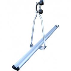 Nosič jízdních kol aluminium uzamykatelný střešní