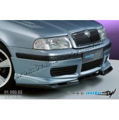 Škoda Octavia 2001 Spoiler pod přední spoiler - černý desén