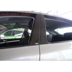 Kryty dveřních sloupků - ABS černá metalíza Škoda Octavia II Lim., Škoda Octavia II Facelift Lim.
