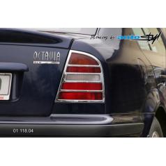 Rámeček zadních světel - chrom Škoda Octavia I