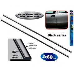 Chránič dveří černý 2x 65 cm