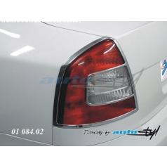 Rámeček zadních světel - chrom Škoda Octavia II